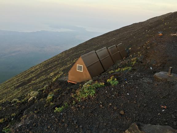 Nyiragongo Volcano Shelter