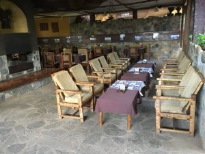 Dinner & resturant for Coco Lodge congo